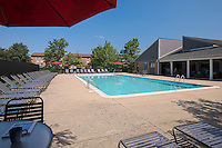 Exterior photo of the Swimming Pool at Westwind Annapolis Apartments by Jeffrey Sauers of Commercial Photographics