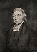 Gotthilf Henry Ernest Muhlenberg (1753-1815), American Lutheran minister and botanist.  First President of Franklin College, Pennsylvania (1787).  A member of the German-American family who led the Pennsylvania Lutheran community.  Engraving, 1896.