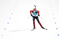 February 10, 2018 - Pyeongchang, South Korea - 180210 Elisa Gasparin of Switzerland competes in Women's Biathlon 7,5 km Sprint during day one of the 2018 Winter Olympics on February 10, 2018 in Pyeongchang..Photo: Petter Arvidson / BILDBYRN / kod PA / 87614 (Credit Image: © Petter Arvidson/Bildbyran via ZUMA Press)