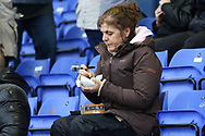 A warm pie during the EFL Sky Bet League 1 match between Oldham Athletic and Scunthorpe United at Boundary Park, Oldham, England on 28 October 2017. Photo by George Franks.