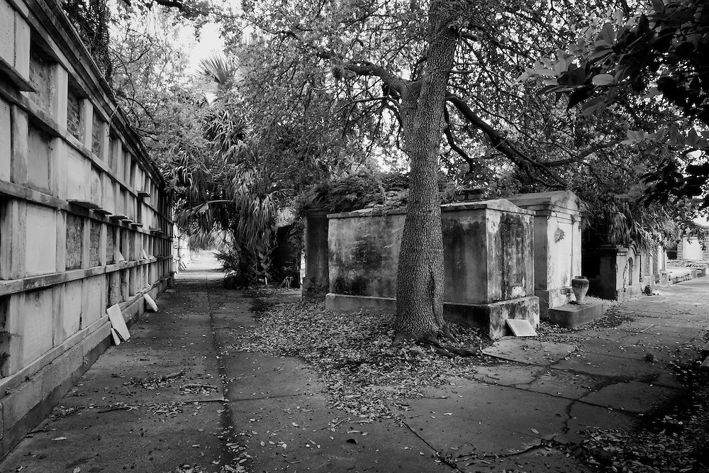 Founded in 1849 by the Independent Order of Odd Fellows, a secret benevolent society, the Odd Fellows Rest Cemetery is located at the end of Canal Street at 5055 Canal Street in New Orleans, Louisiana. USA.