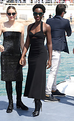 Lupita Nyong'o attending the 355 Photocall held at The Majesic Pier, part of the 71st Cannes Film Festival. Photo credit should read: Doug Peters/EMPICS