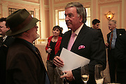 Ged and Terry Wogan, Oldie of the Year Awards. Simpsons-in-the-Strand. London. 13 March 2007.  -DO NOT ARCHIVE-© Copyright Photograph by Dafydd Jones. 248 Clapham Rd. London SW9 0PZ. Tel 0207 820 0771. www.dafjones.com.