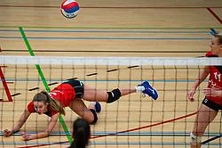 Veerle van den Heuvel of Fast in action during the league match Laudame Financials VCN - FAST on January 23, 2021 in Capelle aan de IJssel.
