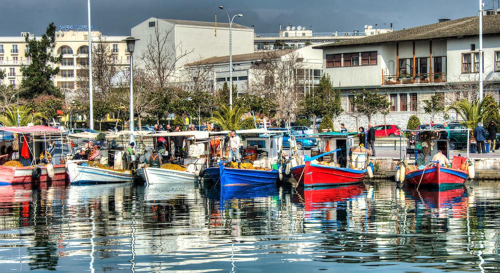 Fishermen in Volos harbour - 15