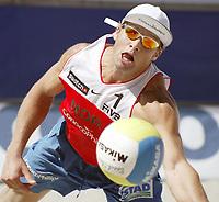 Volleyball, Sandvolleyball, World Tour Stavanger, Grand Slam, 30/06-05, <br />Ivar Horrem, <br />Foto: Halvard Hofsmo, Digitalsport