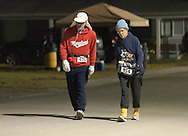 Augusta, New Jersey - Runners compete the 72-hour race during the 3 Days at the Fair races at Sussex County Fairgrounds on May 13, 2012.
