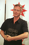 Director Stephen Daldry who won the Standard Life Audience Award for his film 'Billy Elliot' at the closing gala for this year's Edinburgh International Film Festival at the Odeon cinema......