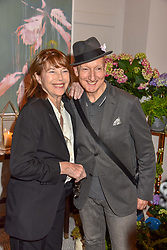 Jane Birkin and Stephen Jones at the Belmond Cadogan Hotel Grand Opening, Sloane Street, London England. 16 May 2019. <br /> <br /> ***For fees please contact us prior to publication***