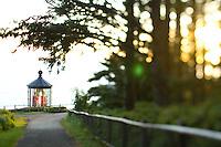 Cape Mears Lighthouse along the Oregon Coast