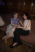 ANNINA VON PFUEL; CELIA WEINSTOCK; The Brown's Hotel Summer Party hosted by Sir Rocco Forte and Olga Polizzi, Brown's Hotel. Albermarle St. London. 14 May 2015