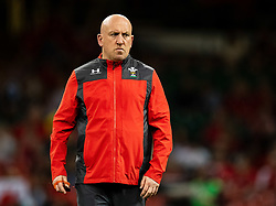 Defence Coach Shaun Edwards of Wales<br /> <br /> Photographer Simon King/Replay Images<br /> <br /> Friendly - Wales v England - Saturday 17th August 2019 - Principality Stadium - Cardiff<br /> <br /> World Copyright © Replay Images . All rights reserved. info@replayimages.co.uk - http://replayimages.co.uk