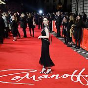 Rachel Brosnahan attend The Romanoffs - World Premiere at CURZON MAYFAIR, London, Uk. 2nd October 2018.