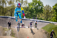 #741 (ARBOLEDA OSPINA Diego Alejandro) COL during practice of Round 3 at the 2018 UCI BMX Superscross World Cup in Papendal, The Netherlands