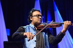 Deepak Pandit. Cape Town International Jazz Festival 2017. Photo by Alec Smith/imagemundi.com
