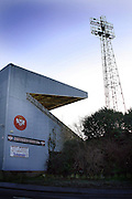 Photographs of the A-line arena, home of Kettering Town football club on Rockingham road, Kettering Northamptonshire