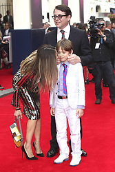 59905873<br /> Sarah Jessica Parker,  Matthew Broderick and Son James at the Premiere of the Musical Charlie and The Chocolate Factory in Theatre Royal London, United Kingdom, 25 June 2013. Photo by imago / i-Images<br /> UK ONLY
