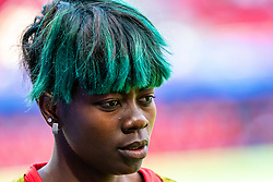 15-06-2019 FRA: Netherlands - Cameroon, Valenciennes<br /> FIFA Women's World Cup France group E match between Netherlands and Cameroon at Stade du Hainaut / Gaëlle Enganamouit #17 of Cameroon
