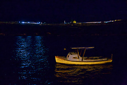 Boat With El Morro In Background