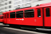 San Diego Trolley, C Street, Downtown San Diego, California (SD)