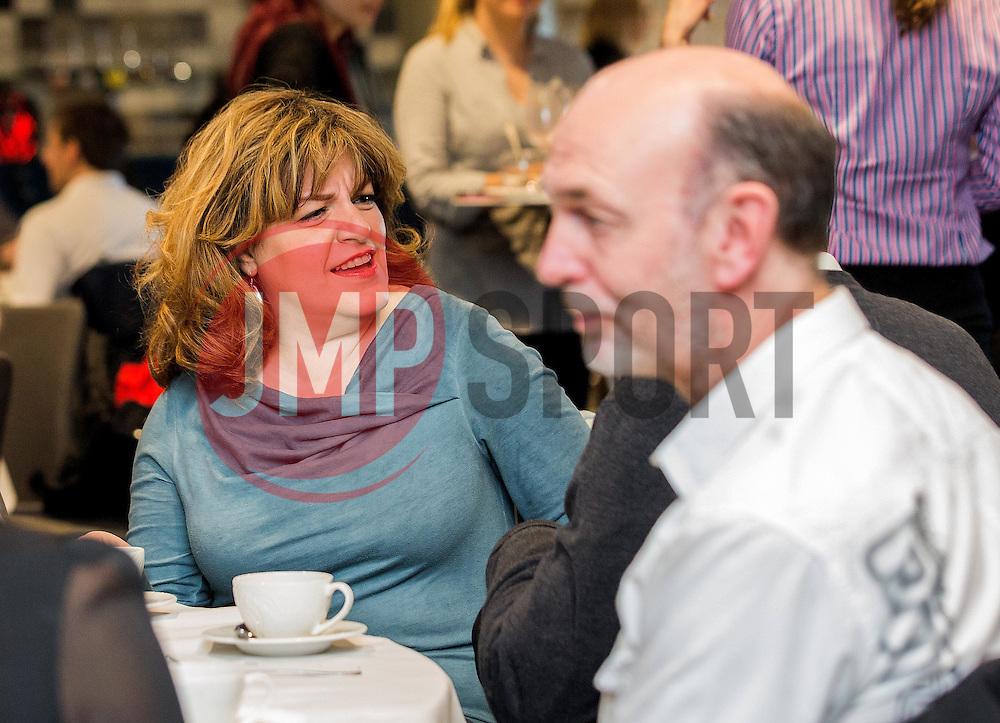 Guest mingle at the Bristol Sport Big Breakfast - Mandatory by-line: Robbie Stephenson/JMP - 29/04/2016 - FOOTBALL - Ashton Gate - Bristol, England - Bristol Sport Big Sports Breakfast Eddie The Eagle