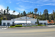 The Historic Greek Theatre Located In Griffith Park Of Los Angeles