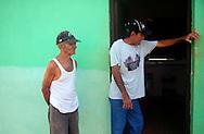Men in Gibara, Holguin, Cuba.