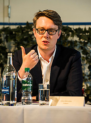 Pictured: Martyn McCluskey Labour.<br /> <br /> Political scientists from the Academy of Government at the University of Edinburgh discussed the factors that influenced voters, the direction of Scottish politics, and analysed changes since the 2015 general election. Among the speakers were Dr Jan Eichhorn (University of Edinburgh), Professors Ailsa Henderson and James Mitchell (University of Edinburgh), Professor Roger Scully (University of Cardiff) and Dr Heinz Branbdenburg (Strathclyde University). Politicians joined the group discussion chaired by Mandy Rhodes (Holyrood Editort) with Marco Biagi (SNP), Nules Briggs (Conservative), Gavin Corbett (Greens), Juliet Swann (Associate Consultant at McNeill and Stone) and Martyn McCluskey (Labour) <br /> <br /> Ger Harley | EEm 13 May April 2016