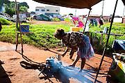 Uberaba_MG, Brasil...Acampamento de ciganos em Uberaba, Minas Gerais...The gipsy camping in Uberaba, Minas Gerais...Foto: LEO DRUMOND / NITRO