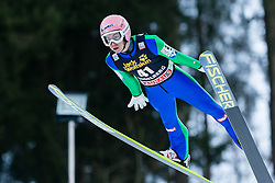 19.12.2015, Gross Titlis Schanze, Engelberg, SUI, FIS Weltcup Ski Sprung, Engelberg, im Bild Stefan Kraft, Österreich // during mens FIS Ski Jumping World Cup at the Gross Titlis Schanze in Engelberg, Switzerland on 2015/12/19. EXPA Pictures © 2015, PhotoCredit: EXPA/ Eibner-Pressefoto/ Socher<br /> <br /> *****ATTENTION - OUT of GER*****