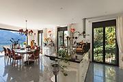 Architecture, interior of a house, modern domestic kitchen