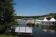 Poznan, POLAND, 20 June 2019, Thursday, General View, Boat Park, FISA World Rowing Cup II, Malta Lake Course, © Peter SPURRIER/Intersport Images,<br /> <br /> 11:41:23