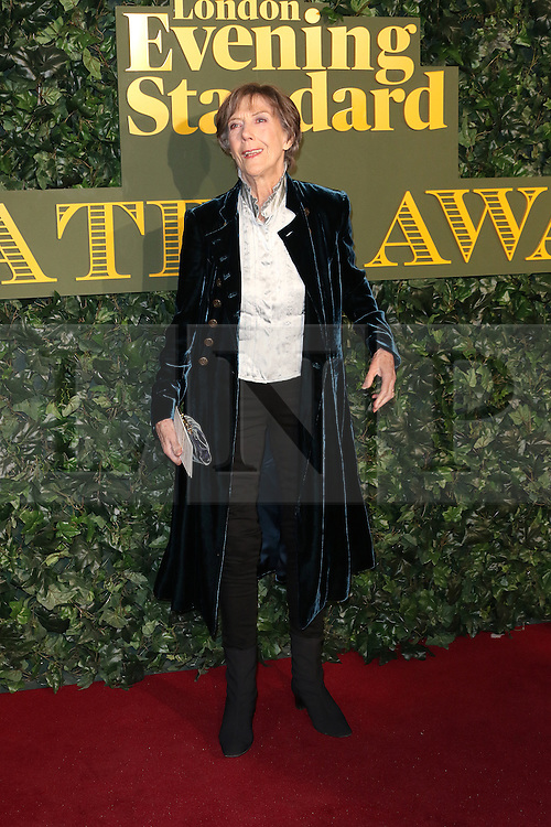 © Licensed to London News Pictures. 13/11/2016. London, UK, Eileen Atkins, Evening Standard Theatre Awards, Photo credit: Richard Goldschmidt/LNP