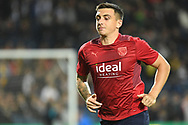 West Bromwich Albion forward Jordan Hugill (17) during the EFL Sky Bet Championship match between West Bromwich Albion and Derby County at The Hawthorns, West Bromwich, England on 14 September 2021.