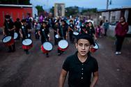 Processione per la vergine di Guadalupe a Vicam