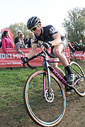 Belgium, November 1 2017:  Jonas Degroote (Team Mahieu - Kona - Vandermeeren) finished in 16th place in the 2017 edition of the Koppenbergcross. Copyright 2017 Peter Horrell.