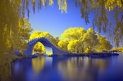 June 26, 2017 - Beijing, Beijing, China - Beijing, CHINA-June 26 2017: (EDITORIAL USE ONLY. CHINA OUT) ..Infrared photography of Summer Palace in Beijing, June 26th, 2017. (Credit Image: © SIPA Asia via ZUMA Wire)