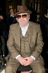 Ray Winstone on the front row during the Pam Hogg Autumn/Winter 2017 London Fashion Week show at the Fashion Scout venue in Freemason's Hall, London. Picture date: Saturday February 19th, 2017. Photo credit should read: Matt Crossick/ EMPICS Entertainment.