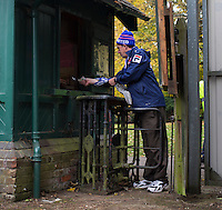 A general view of the Victorian-era turnstyles at Clarence Park, home of St Albans City<br /> <br /> Photographer Craig Mercer/CameraSport<br /> <br /> The Emirates FA Cup First Round - St Albans City v Carlisle United - Sunday 6th November 2016 - Clarence Park - St Albans<br />  <br /> World Copyright © 2016 CameraSport. All rights reserved. 43 Linden Ave. Countesthorpe. Leicester. England. LE8 5PG - Tel: +44 (0) 116 277 4147 - admin@camerasport.com - www.camerasport.com