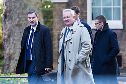 London, November 06 2017. Secretary of State for Work and Pensions David Gauke in Downing Street visiting the Prime Minister's official residence at No. 10. © Paul Davey
