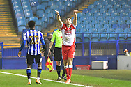 Murray Wallace during the EFL Sky Bet Championship match between Sheffield Wednesday and Millwall at Hillsborough, Sheffield, England on 7 November 2020.