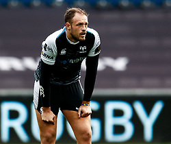 Cory Allen of Ospreys<br /> <br /> Photographer Simon King/Replay Images<br /> <br /> Guinness PRO14 Round 18 - Ospreys v Dragons - Saturday 23rd March 2019 - Liberty Stadium - Swansea<br /> <br /> World Copyright © Replay Images . All rights reserved. info@replayimages.co.uk - http://replayimages.co.uk
