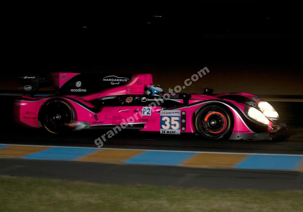 No.35 Oak Racing (David Heinmeier Hansson, Bas Leinders, Maxime Martin) Dunlop curve. Photo Grand Prix Photo