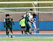 Brentwood plays Fairport in the New York State Public High School Athletic Association Class AA boys soccer championship game on Sunday, Nov. 17, 2019, at Middletown. Brentwood won 4-0.