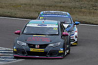 #22 Chris Smiley BTC Norlin Racing Honda Civic Type R (FK2) during BTCC Race 2  as part of the Dunlop MSA British Touring Car Championship - Rockingham 2018 at Rockingham, Corby, Northamptonshire, United Kingdom. August 12 2018. World Copyright Peter Taylor/PSP. Copy of publication required for printed pictures.