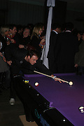 """Jamie Theakston. Official Pre-Brit Awards 2005 Pool Tournament"""" at The Sanderson Hotel February 8, 2005 in London. The party is hosted by Esquire Magazine ONE TIME USE ONLY - DO NOT ARCHIVE  © Copyright Photograph by Dafydd Jones 66 Stockwell Park Rd. London SW9 0DA Tel 020 7733 0108 www.dafjones.com"""