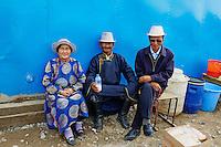 Mongolie, province de Ovorkhangai, Kharkhorin, le marche // Mongolia, Ovorkhangai, Kharkhorin, local market