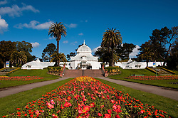 Conservatory, Golden Gate Park, San Francisco, California, USA.  Photo copyright Lee Foster.  Photo # california108789