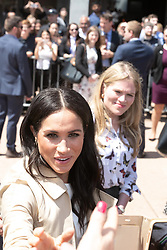 AU_1369901 - Sydney, AUSTRALIA  -  Prince Harry and Meghan tour Opera House, Taronga Zoo after baby news. Royal watchers swamp Opera House for Meghan Markle and Prince Harry's first day on tour downunder.<br /> <br /> Pictured: Meghan Markle<br /> <br /> BACKGRID Australia 16 OCTOBER 2018 <br /> <br /> BYLINE MUST READ: Trevor Goddard / BACKGRID<br /> <br /> Phone: + 61 2 8719 0598<br /> Email:  photos@backgrid.com.au