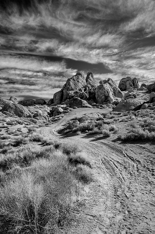 Road to the Alabama Hills, Lone Pine, CA